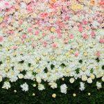 X-Frame Motivhintergrund Flower Style