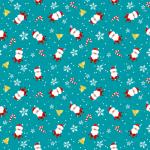 X-Frame Motivhintergrund Blue Santa
