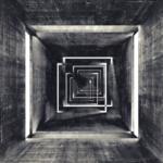 X-Frame Motivhintergrund Disco Tunnel