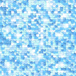X-Frame Motivhintergrund Blue Sequin Dream
