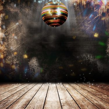 X-Frame Motivhintergrund Disco Dance
